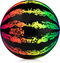 Watermelon Ball JR - Pool Toy for Underwater Games - Durable Ball for Pool Football, Basketball & Rugby - Perfect for Water Parties - Fun for Adults & Kids Alike - Fillable Pool Ball - Ages 6+