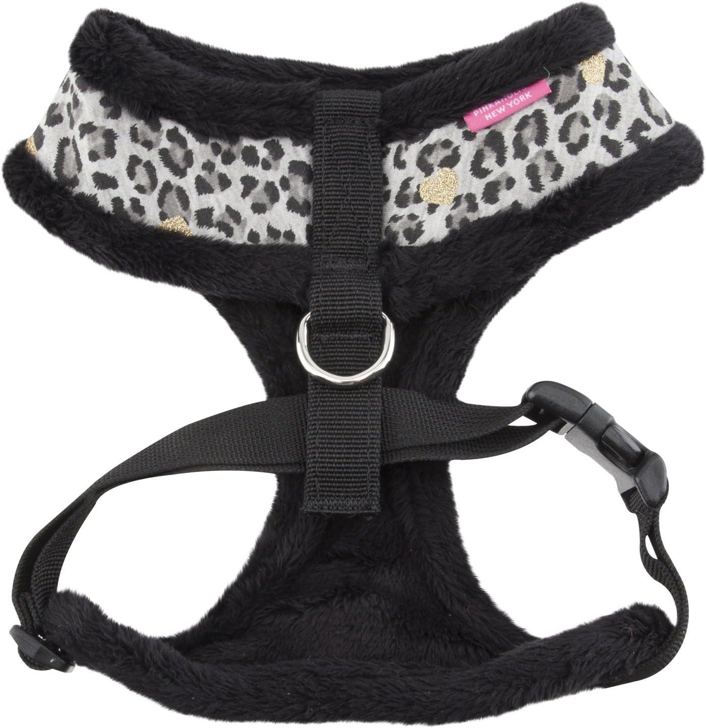Medium Black Pinkaholic New York Leo Pug Harness Harness
