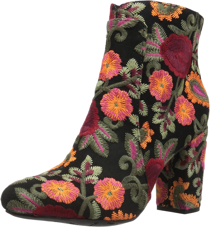 MIA Women's pinkbud Ankle Bootie Black