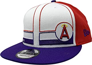 New Era Los Angeles Angels Adjustable 9Fifty MLB Flat Bill Baseball Cap 950