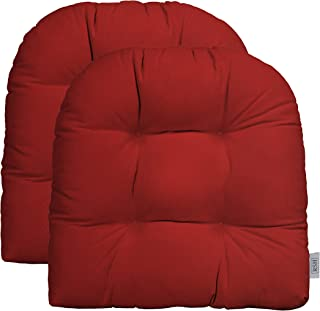 Amazon Com Patio Furniture Cushions Red Cushions Patio Seating Patio Lawn Garden