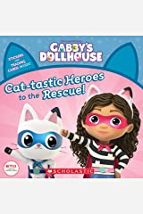 Cat-tastic Heroes to the Rescue (Gabby's Dollhouse Storybook) Kindle Edition