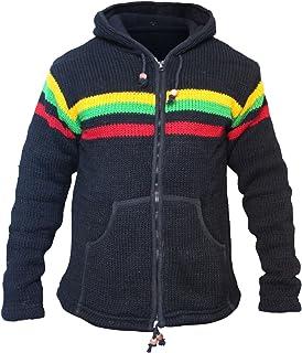 Shopoholic Fashion Men Winter Rasta Hippie Jacket