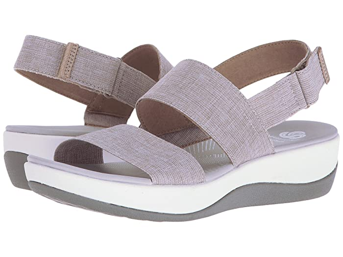Clarks Arla Jacory (Sand) Womens Sandals