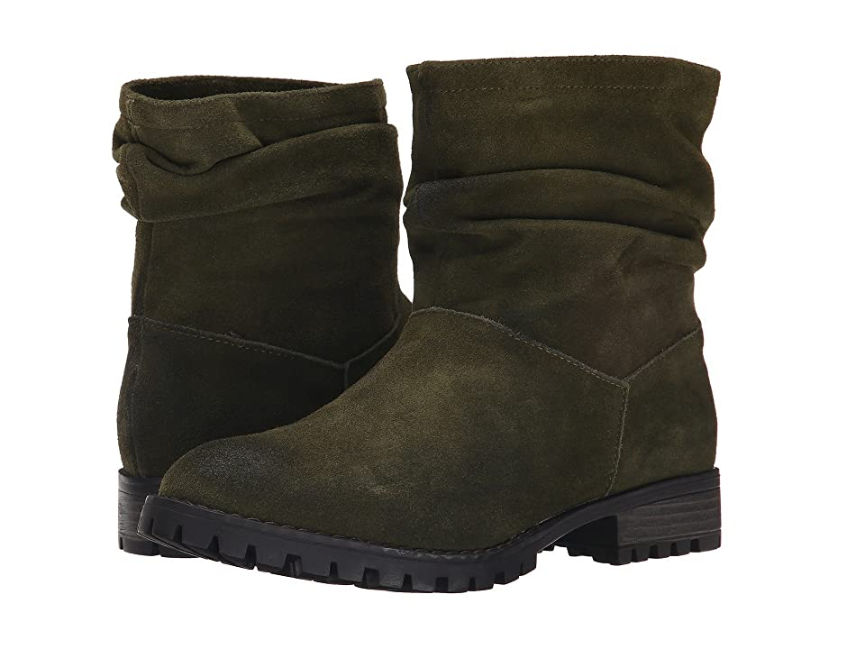 Chinese Laundry Flip Slouch Bootie (Olive Burnished) Women