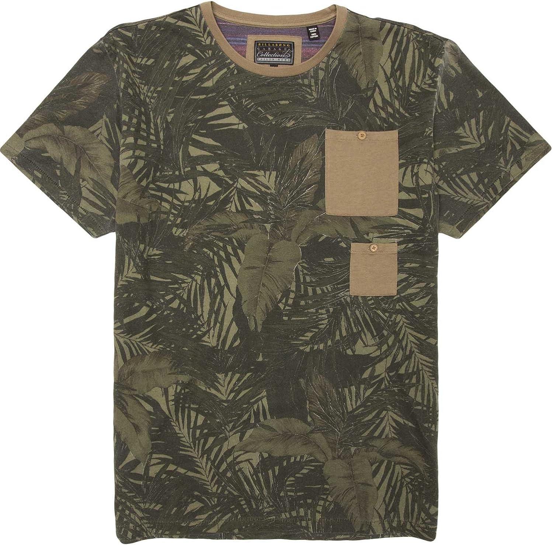Billabong Men's Alvarado 2021 spring and summer new Short Sleeve Crew Shirt All items free shipping