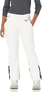 Women's Water Resistant Full Length Insulated Snow Pants