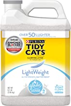 Purina Tidy Cats LightWeight Glade Tough Odor Solutions Clear Springs Clumping Dust Free Cat Litter - (2) 8.5 lb. Jugs