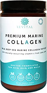 Premium Marine Collagen Protein Powder - Organic Ingredients, Doctor-Formulated, 1.5X More Absorbable Hydrolyzed Peptides ...