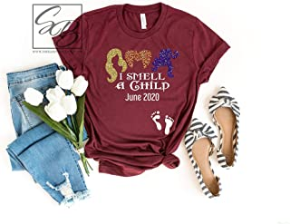 I Smell a Child Pregnancy Announcement Shirt UNISEX FIT Halloween Pregnancy Shirt, Hocus Pocus Pregnancy Shirt, Fall Pregnancy Shirt