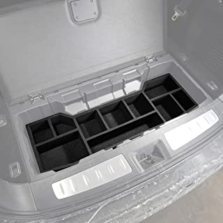 Red Hound Auto Trunk Cargo Organizer Insert Rear Storage Compatible with Infiniti QX60 2017 2018 2019 Black Anti-Rattle Made in USA