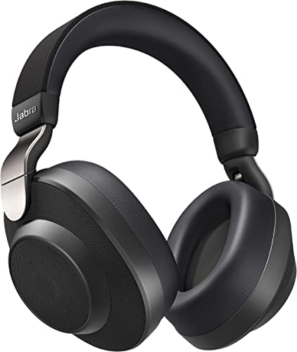 discount Jabra sale Elite 85h Wireless Noise-Canceling Headphones, Titanium Black popular – Over Ear Bluetooth Headphones Compatible with iPhone & Android - Built-in Microphone, Long Battery Life - Rain & Water Resistant outlet online sale