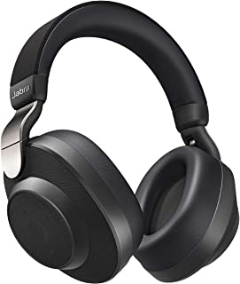 Jabra Elite 85h Wireless Noise-Canceling Headphones, Titanium Black – Over Ear Bluetooth Headphones Compatible with iPhone...