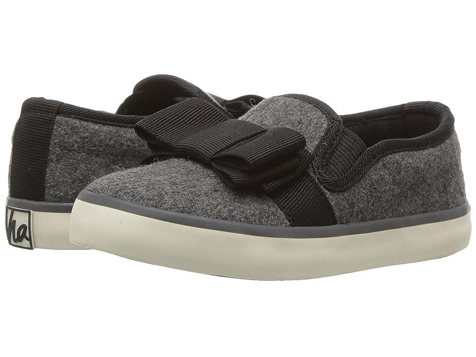 Hanna Andersson Una (Toddler/Little Kid/Big Kid) (Dark Grey) Girls Shoes