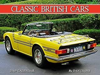 Classic British Cars 2019 Calendar
