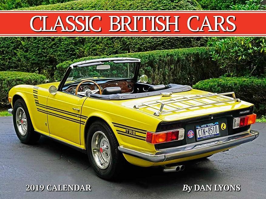 つかまえる因子割り当てClassic British Cars 2019 Calendar