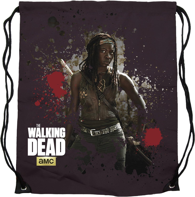 The Walking Dead Cinch Bag Michonne Crowded Coop Borse