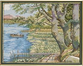 Eva Rosenstand Fishing Landscape Counted Cross-Stitch Kit