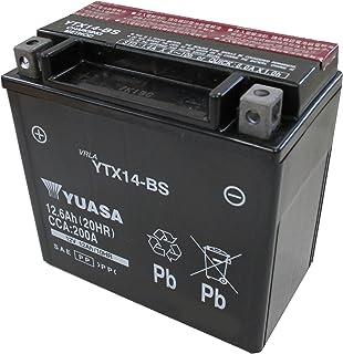 YUASA / YTX14-BS (STX14-BS YTX14H-BS GTX14-BS FTX14-BS互換) バイク用バッテリー 密閉型MF 14-BS