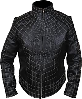F&H Kid's Amazing Spiderman Genuine Leather Jacket