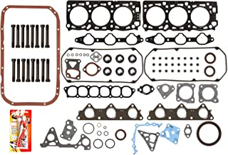Fits 95-98 Mitsubishi Montero & Sport 3.0 SOHC 6G72 Full Gasket Set Head Bolts