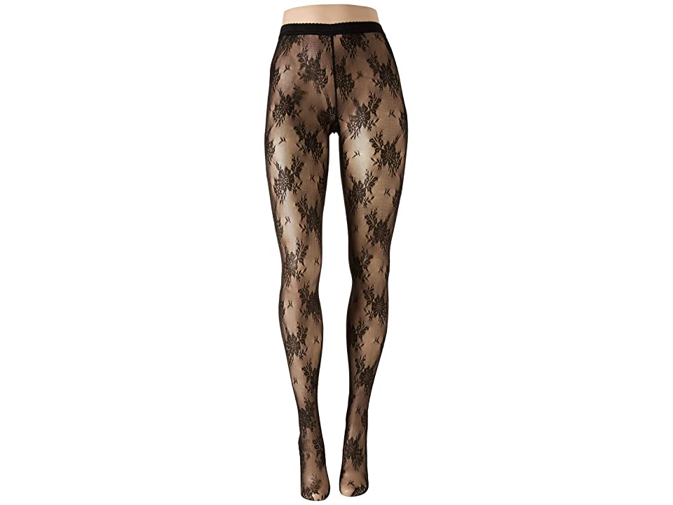 Wolford Lea Tights (Black/Black) Hose