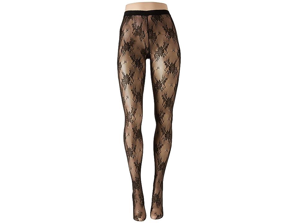 Wolford Lea Tights (Black/Black) Hose
