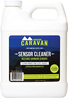 "Caravan ""Overnight"" RV Sensor and Tank Cleaner - fix sensors, Clear Toilet and Tank Clogs, eco-Friendly, probiotic Bacteria Enzyme Formula, RV, Marine, Black, Gray, Microbial-Based Plumbing Solution-"