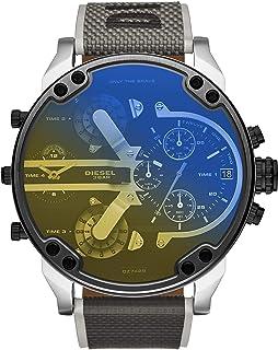 Diesel Montre chronographe en nylon noir Mr. Daddy 2.0
