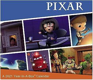 2021 Disney Pixar Year-In-A-Box Calendar (LMB2570021)