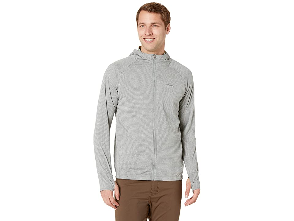ExOfficio BugsAway(r) Tarka Full Zip Hoodie (Grey Storm) Men