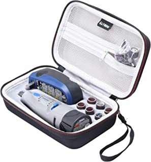 LTGEM EVA Hard Case for Dremel 7300-N/8 MiniMite 4.8-Volt Cordless Two-Speed Rotary Tool (The Rotary Tool is not included)