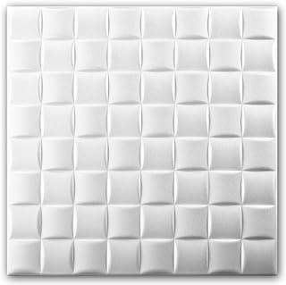 Azulejos de techo de espuma de poliestireno (paquete de 88