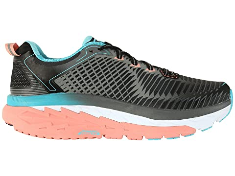 Hoka One One Arahi Black/Peach Amber Geniue Stockist Cheap Price VWMU5q7pA