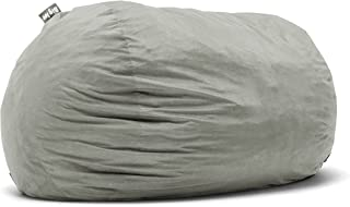 Big Joe Lenox Fuf Foam Filled Bean Bag, Extra Extra Large, Fig - 1658