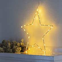 Sirius LED Kerze 3er Set Sara Exclusive 10 x 30-10x 20-10x12 cm Batteriebetriben Timer Echtwachs wei/ß