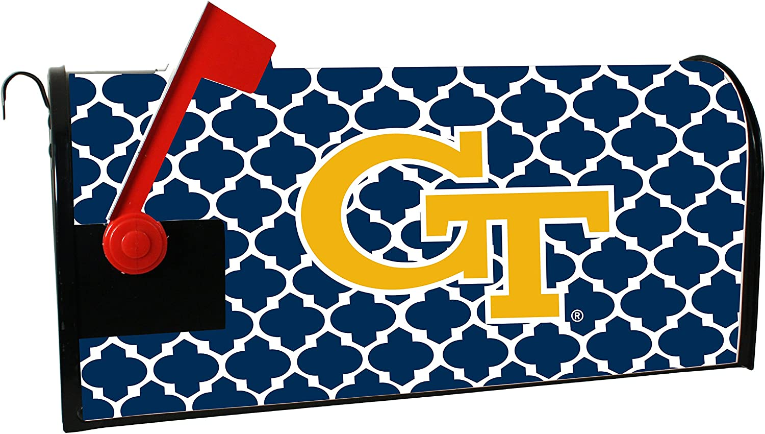 Georgia TECH Yellow 2021 Max 70% OFF new Jackets Magnetic Cover-Georgia Mailbox