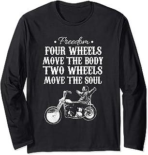 Triana Market Place Freedom biker sports wear Long Sleeve T-Shirt