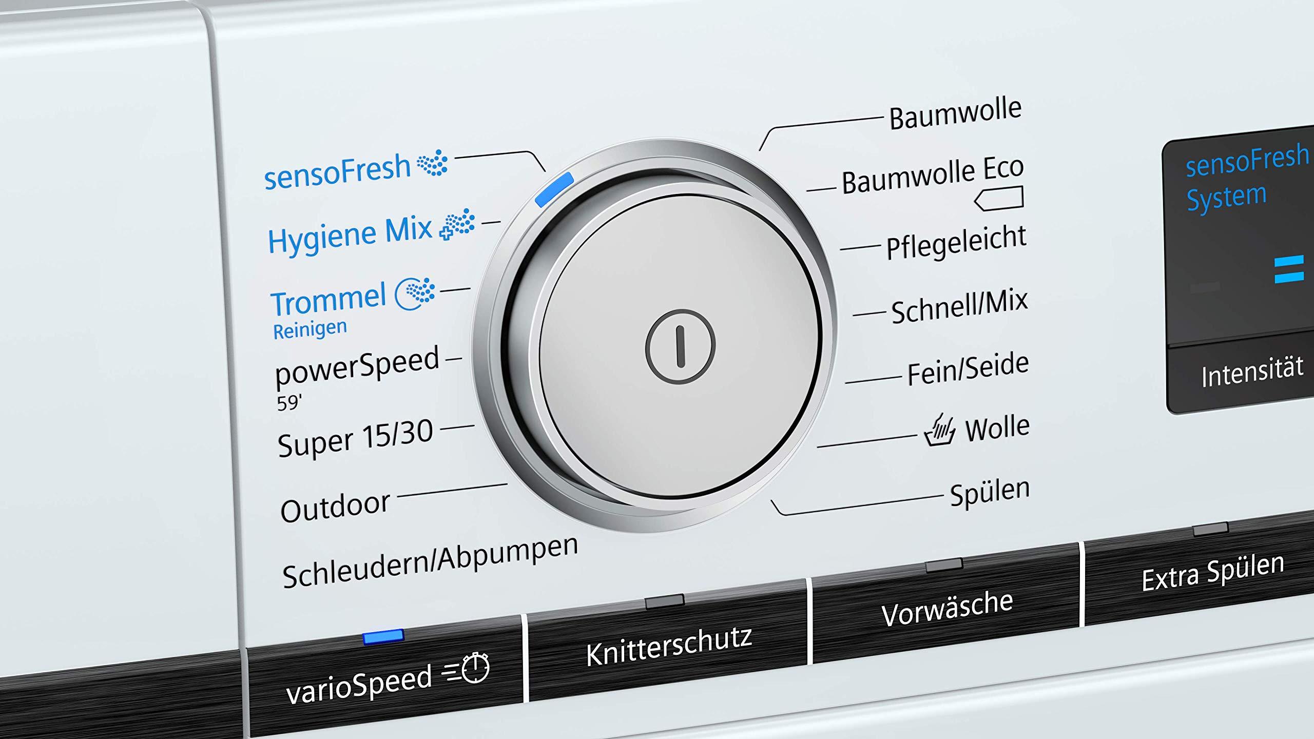 Siemens iQ700 WM14VL40 - Lavadora (9 kg, A++++, 152 kWh, 1400 u ...