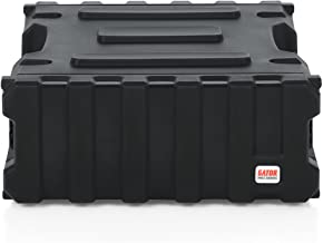 "Gator Cases Pro Series Rotationally Molded 4U Rack Case with Standard 19"" Depth; Made in USA (G-PRO-4U-19), Black"
