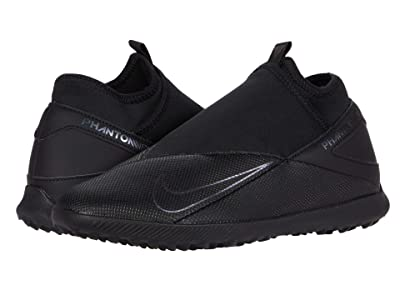 Nike Phantom VSN 2 Club DF TF (Black/Black) Soccer Shoes