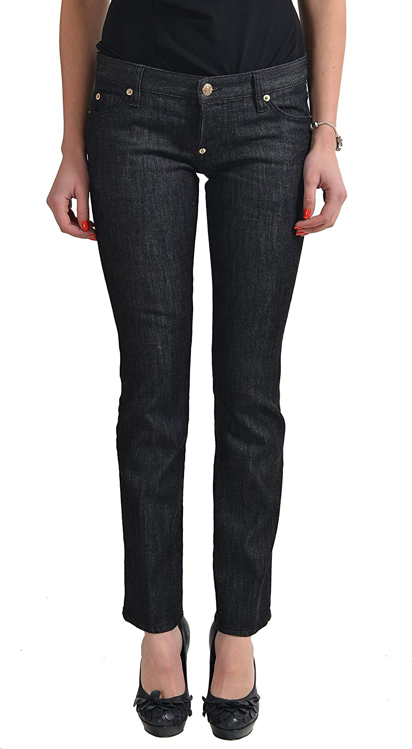 DSQUARED2  Trombetta Jean Dark Wash Slim Fit Women's Jeans US 4 IT 40
