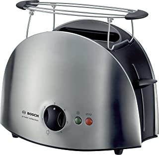 Bosch  City collection Two Slice Toaster , Stainless Steel Silver - TAT6901GB
