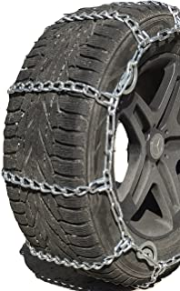 TireChain.com 35X12.50-20, 35X12.5-18, 295/65-20 Cam Tire Chains, Priced per Pair.