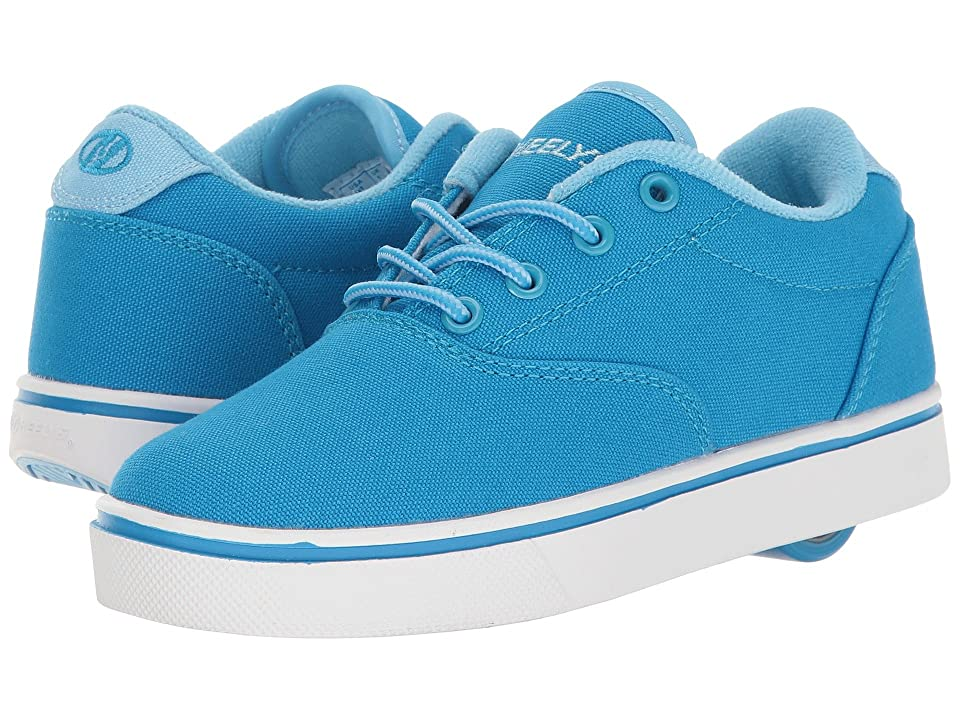 Heelys Launch (Little Kid/Big Kid/Adult) (Light Blue/Blue/White) Kids Shoes