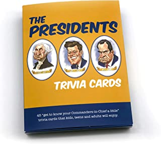 Papersalt Trivia Cards, The Presidents