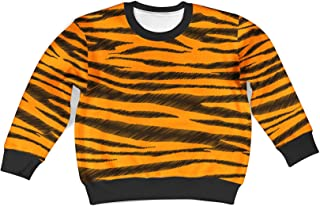 Rainbow Rules Tigger Stripes Winnie The Pooh Inspired Kids Sweatshirt Unisex