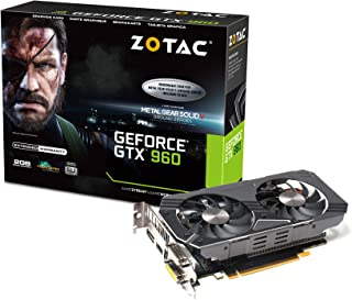 ZOTAC GeForce GTX 960 METAL GEAR SOLID V グラフィックスボード VD5647 ZTGTX96-2GD5MGS01