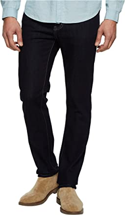 Slim Straight in Comfort Stretch Denim in Indigo Rinse