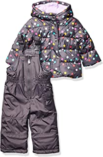 Carter's Baby Girls Heavyweight Jacket and Pants Snowsuit